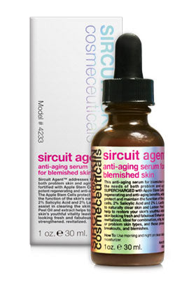 Sircuit Agent + Anti-Aging Serum for Blemished Skin 1 oz. l 30 ml.