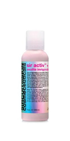 Sir Activ + Zeolite Invigorating Scrub 4 oz. l 120 ml.