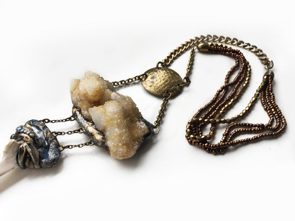 The Cloud Statement Necklace