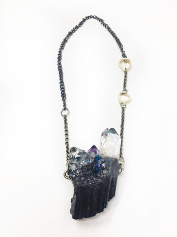 Multi Crystals Necklace