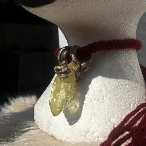 Yellow Quartz Pendant