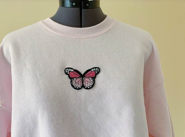 Butterfly Crewneck