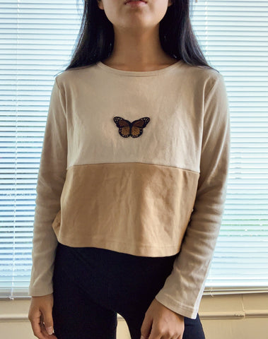 the coffee butterfly top