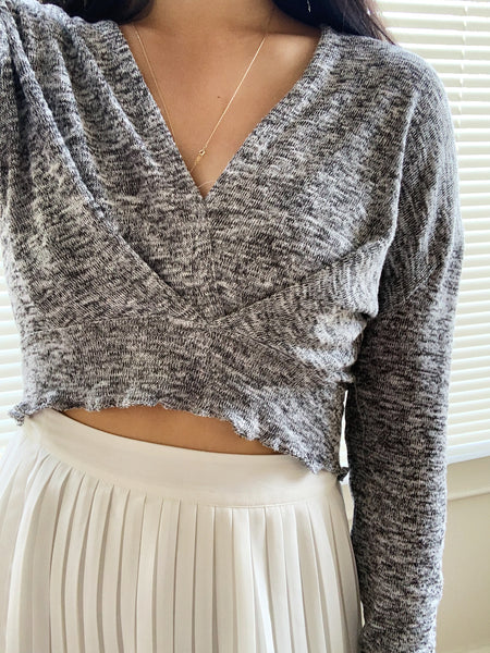The Heather (grey) Top