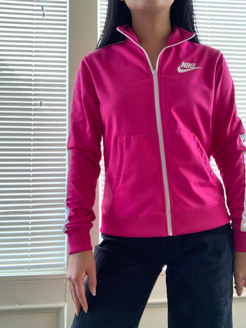 Authentic Nike Pink Zip-up Jacket