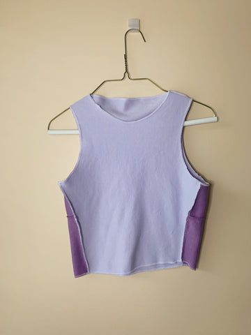 Lavender Dreams High Neck Tank