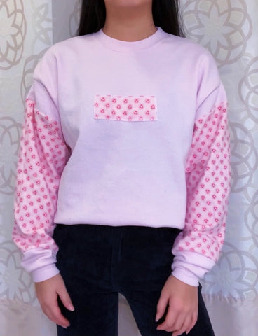 Flower Power Oversized Crewneck