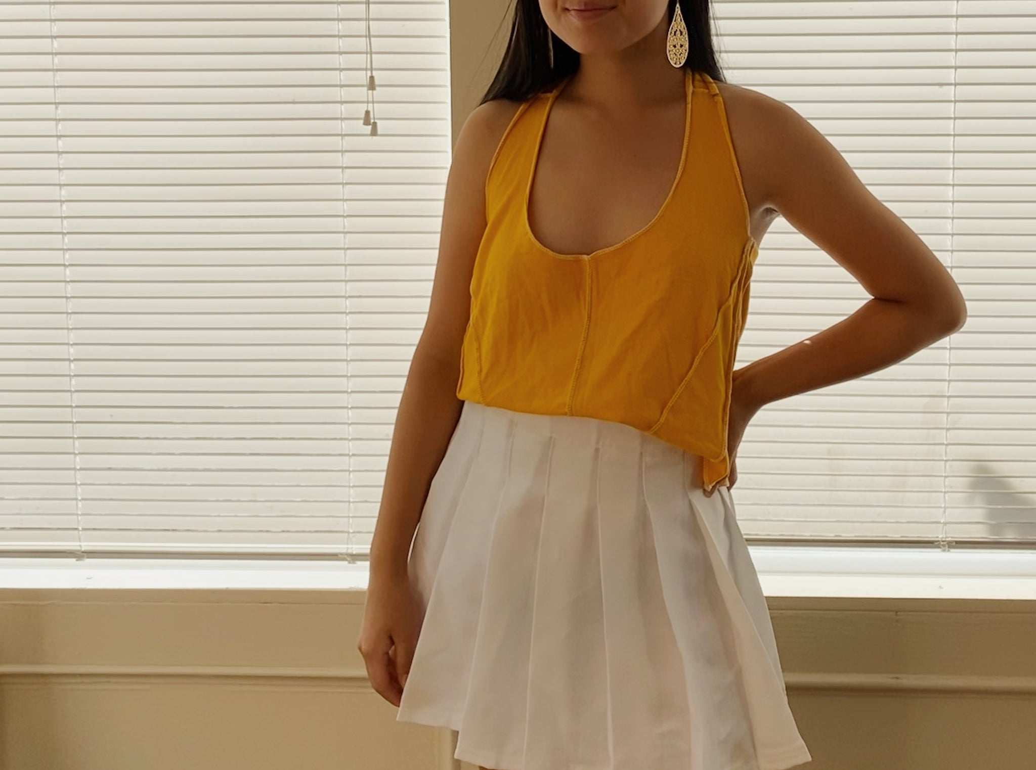 The Marigold Halter Top
