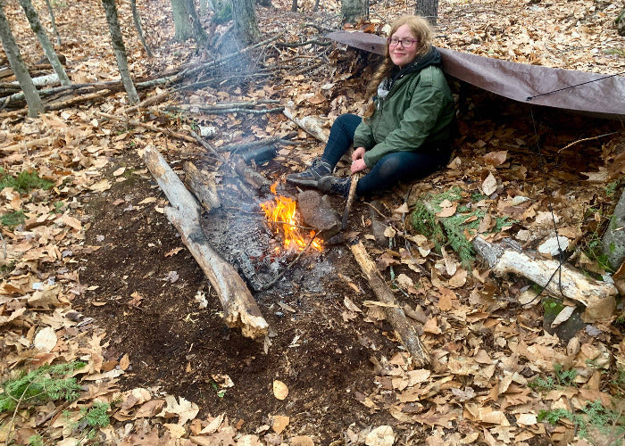 Stealth shelter and fire weekend