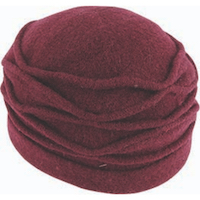 Boiled Wool Cloche