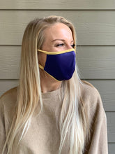 Load image into Gallery viewer, Made in USA Purple/Gold Masks