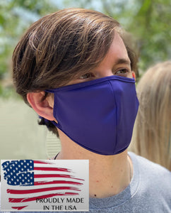 Made in USA Purple Microfiber Mask