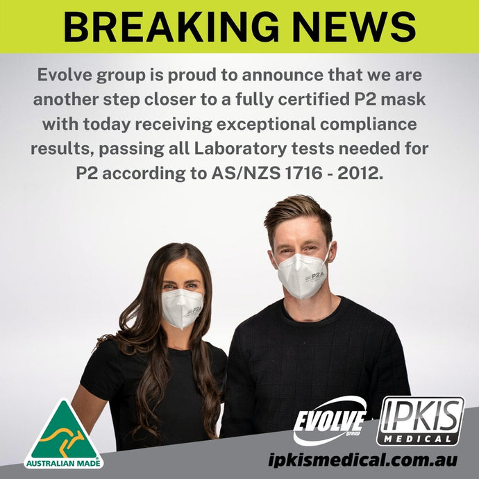 Breaking News | Ipkis Medical P2 Respirator Face Masks Now Available