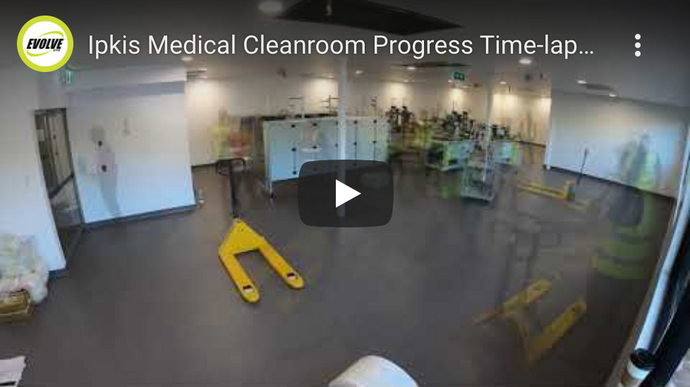 Ipkis Medical Cleanroom Progress Time-lapse