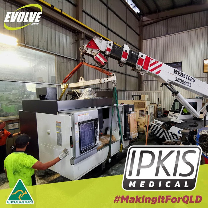 Ipkis Medical Face Mask Manufacturing Progress