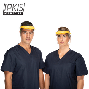 Ipkis Medical Face Shield Replacement Visor (100-pack)