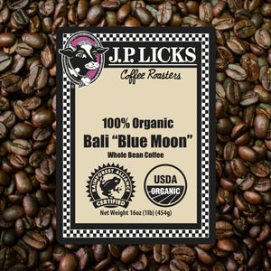 JP Licks Bali Blue Moon Label Front
