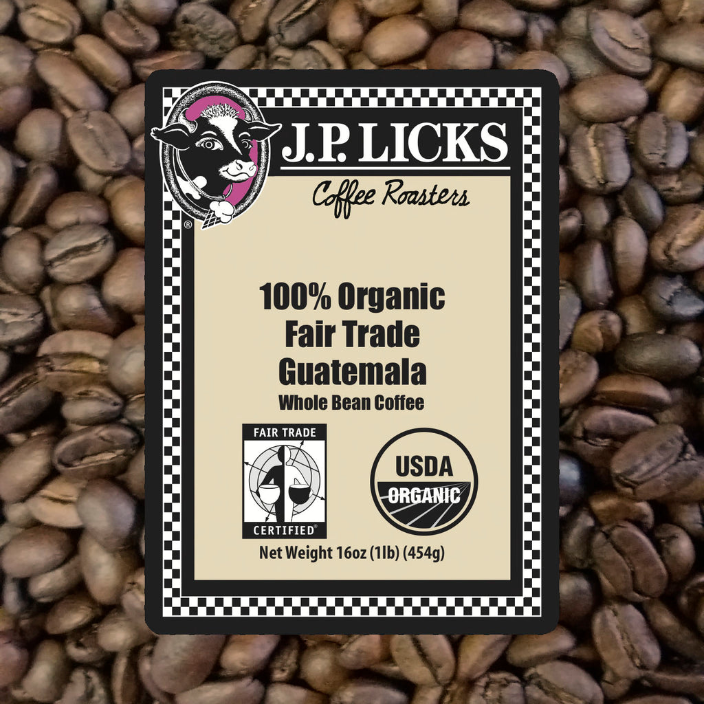 Organic Fair Trade Guatemala Coffee Label