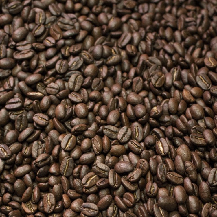 Peru La Florida coffee beans in roaster