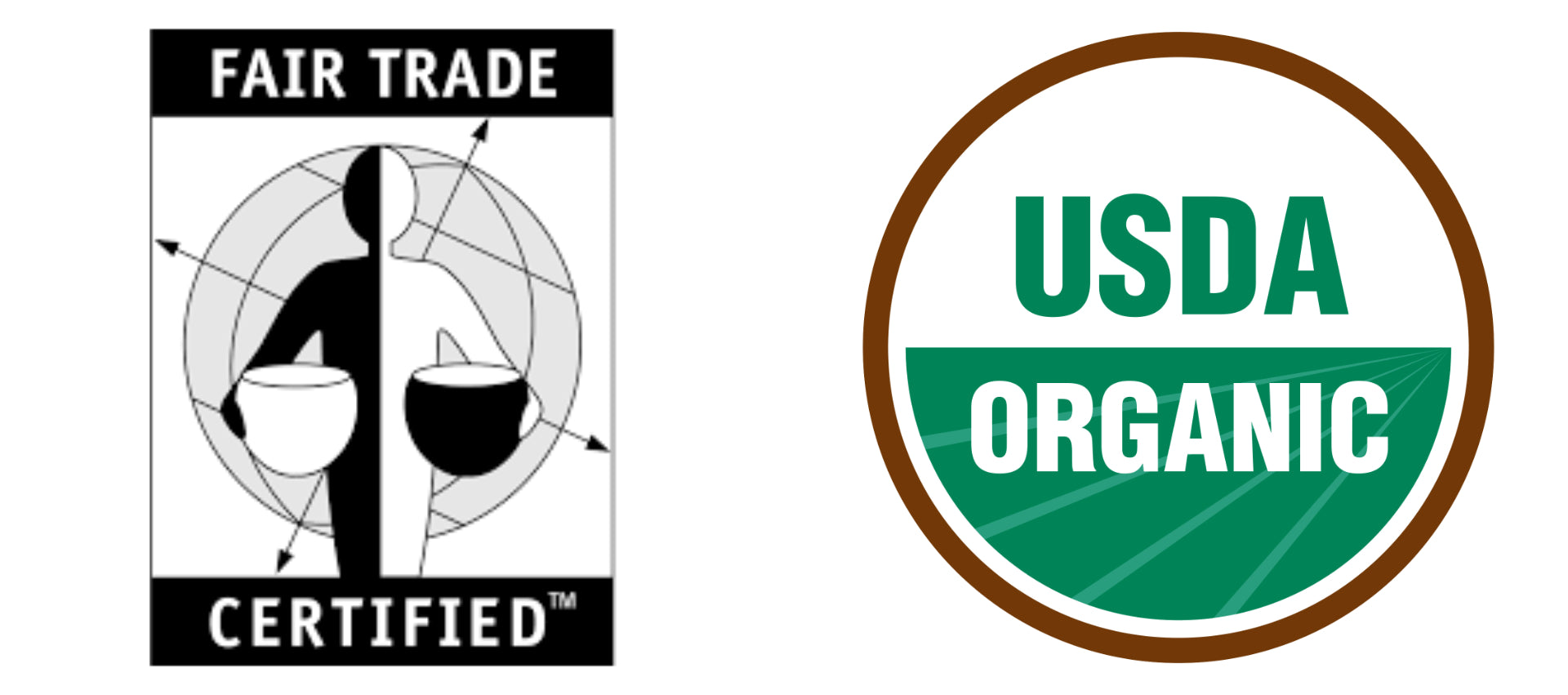Fair Trade Certified and USDA Organic
