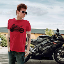 Load image into Gallery viewer, Live to Ride | Unisex & Men's T-Shirt - Clevr Designs - Cars / Motorcycles, Inspiration / Motivation, Vintage / Retro Style