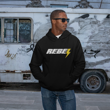 Load image into Gallery viewer, Rebel | Unisex & Men's Hoodie - Clevr Designs - Humor / Funny, Vintage / Retro Style