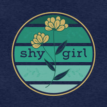 Load image into Gallery viewer, Shy Girl | Women's Fitted T-Shirt - Clevr Designs - Inspiration / Motivation, Modern / Streetwear