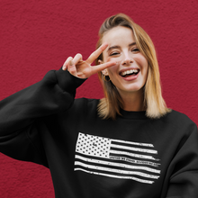Load image into Gallery viewer, United We Stand | Unisex & Men's Sweatshirt - Clevr Designs - Military / Patriotic, Vintage / Retro Style