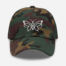 Load image into Gallery viewer, Butterfly | Women's Baseball Hat - Clevr Designs - Modern / Streetwear