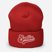 Load image into Gallery viewer, Retro Smile | Cuffed Beanie