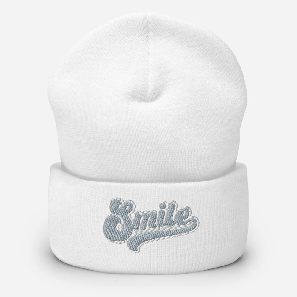 Retro Smile | Cuffed Beanie