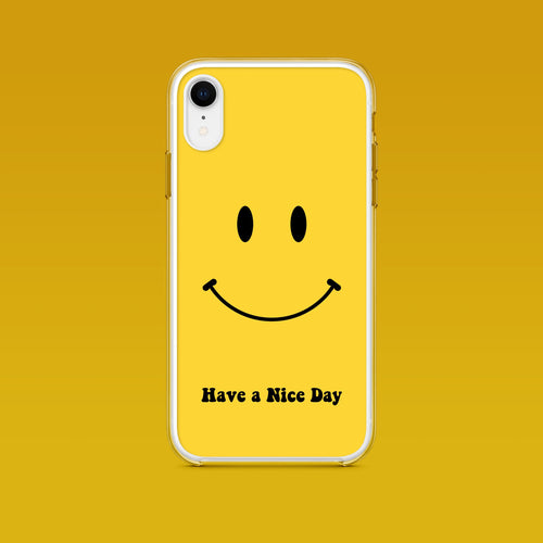 iPhone: Retro Have A Nice Day Phone Case - Clevr Designs - Humor / Funny, iPhone Cases, Vintage / Retro Style