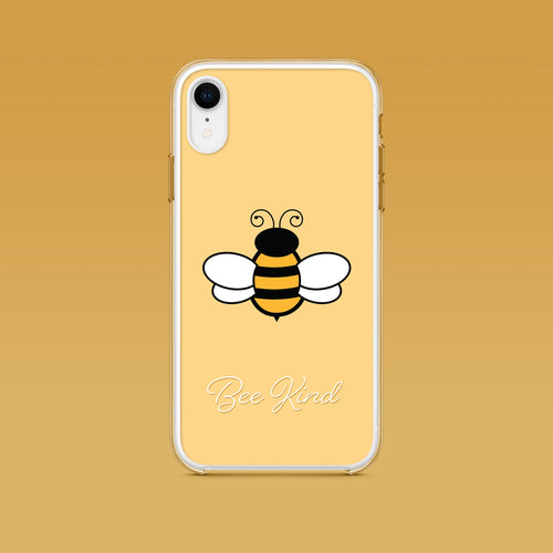 iPhone: Bee Kind Aesthetic Phone Case - Clevr Designs - Inspiration / Motivation, iPhone Cases