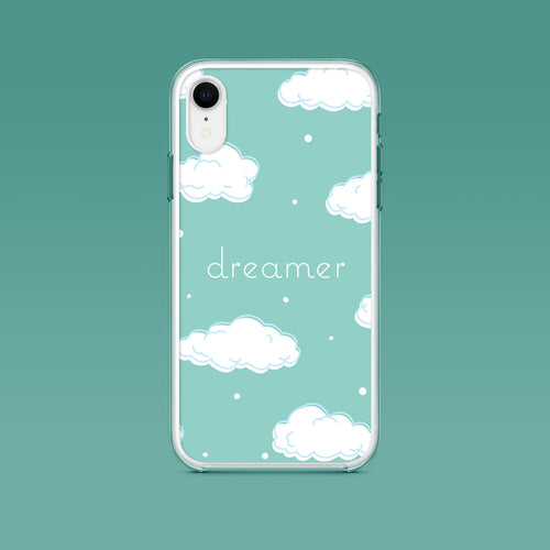 iPhone: Dreamer Aesthetic Phone Case - Clevr Designs - Inspiration / Motivation, iPhone Cases, Vintage / Retro Style