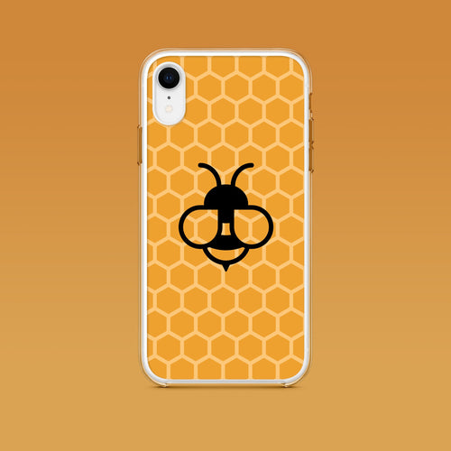 iPhone: Honey Bee Aesthetic Phone Case - Clevr Designs - iPhone Cases, Modern / Streetwear