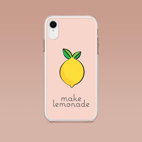 iPhone: Make Lemonade Aesthetic Phone Case - Clevr Designs - Humor / Funny, Inspiration / Motivation, iPhone Cases