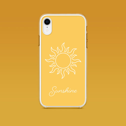iPhone: Sunshine Aesthetic Phone Case - Clevr Designs - Inspiration / Motivation, iPhone Cases, Vintage / Retro Style
