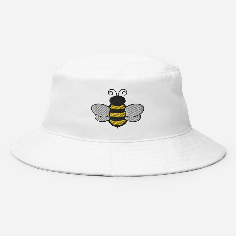 Honey Bee | Women's Bucket Hat - Clevr Designs - Vintage / Retro Style