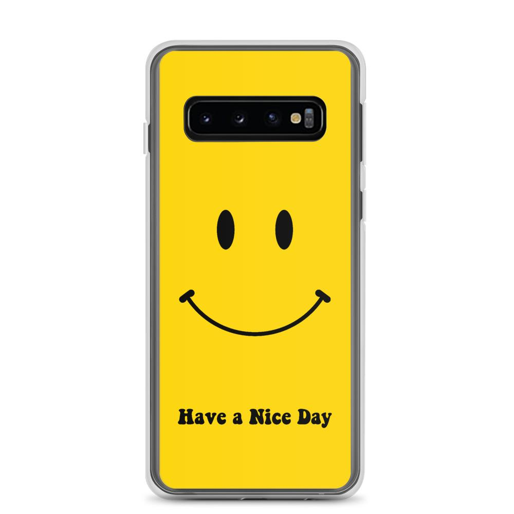 Samsung: Retro Have A Nice Day Phone Case - Clevr Designs - Humor / Funny, Samsung Cases, Vintage / Retro Style