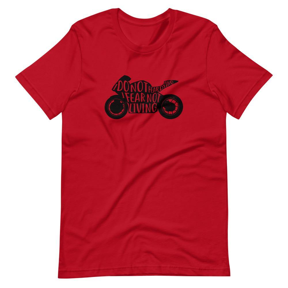 Live to Ride | Unisex & Men's T-Shirt - Clevr Designs - Cars / Motorcycles, Inspiration / Motivation, Vintage / Retro Style