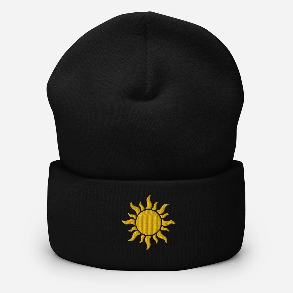 Sunshine | Women's Cuffed Beanie - Clevr Designs - Inspiration / Motivation, Modern / Streetwear