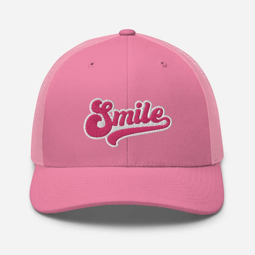 Retro Smile | Trucker Hat - Clevr Designs - Inspiration / Motivation, Vintage / Retro Style