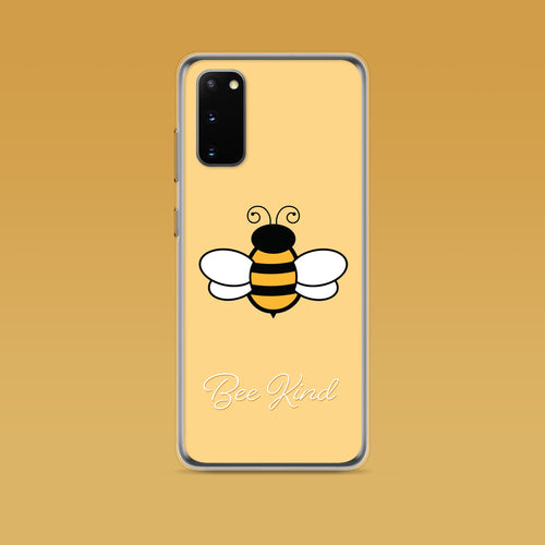 Samsung: Bee Kind Aesthetic Phone Case - Clevr Designs - Inspiration / Motivation, Samsung Cases