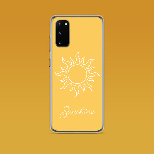 Samsung: Sunshine Aesthetic Phone Case - Clevr Designs - Inspiration / Motivation, Samsung Cases, Vintage / Retro Style