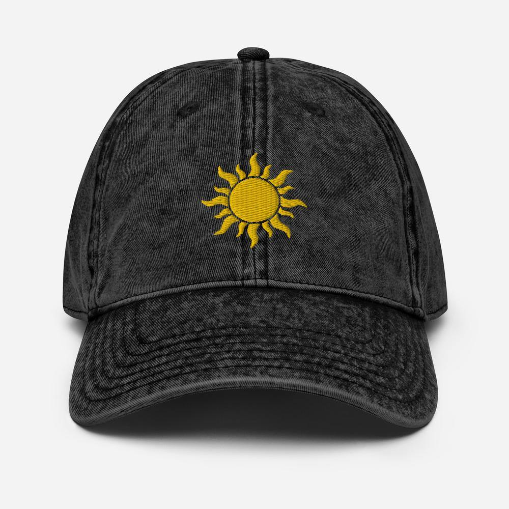 Vintage Sunshine | Women's Baseball Hat - Clevr Designs - Vintage / Retro Style