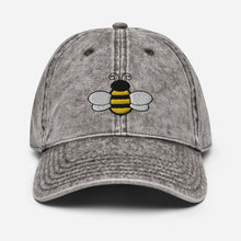 Load image into Gallery viewer, Vintage Honey Bee | Women's Baseball Hat - Clevr Designs - Vintage / Retro Style