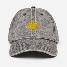 Load image into Gallery viewer, Vintage Sunshine | Women's Baseball Hat - Clevr Designs - Vintage / Retro Style