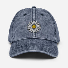 Load image into Gallery viewer, Vintage Daisy | Women's Baseball Hat - Clevr Designs - Vintage / Retro Style