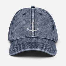 Load image into Gallery viewer, Vintage Anchor | Baseball Hat - Clevr Designs - Vintage / Retro Style