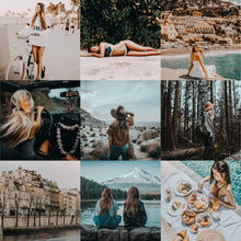 Load image into Gallery viewer, Best Lightroom Presets LR Mobile presets Caramel Lightroom Presets